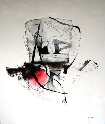 Branka Moser, ohne Titel, Gesellschaft, Abstraktes, Abstrakte Kunst, Expressionismus