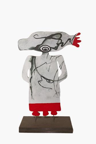 Branka Moser, Figur 2, Abstraktes, Abstraktes, Surrealismus