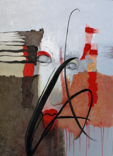 Branka Moser, ohne Titel, Abstraktes, Abstraktes, Abstrakte Kunst