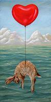 Hinrich-van-Huelsen-Fantasie-Landschaft-See-Meer-Neuzeit-Realismus