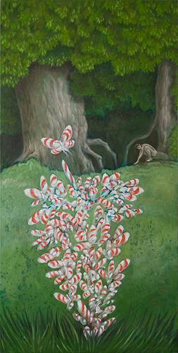 Hinrich van Hülsen, Ja, oh ist richtig, Fantasie, Diverse Landschaften, Postsurrealismus