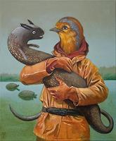 Hinrich-van-Huelsen-Tiere-Wasser-Tiere-Luft-Gegenwartskunst-Postsurrealismus