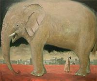 Hinrich-van-Huelsen-Tiere-Land-Skurril-Gegenwartskunst-Postsurrealismus