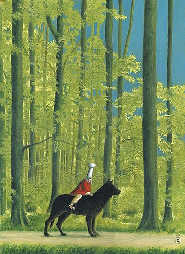 Hinrich van Hülsen, Der Himmel ist keineswegs azurblau, Fantasie, Fantasie, Realismus, Expressionismus