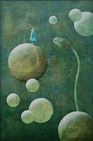 Hinrich-van-Huelsen-Diverse-Landschaften-Fantasie-Gegenwartskunst--Postsurrealismus