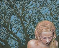 Hinrich-van-Huelsen-Menschen-Frau-Natur-Wald-Neuzeit-Realismus