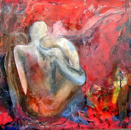 Aminta, nosotros tres, Abstraktes, Abstrakte Kunst