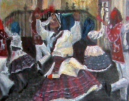 Aminta, Llamerada de Puno Matices Peruanos., Karneval, expressiver Realismus, Expressionismus