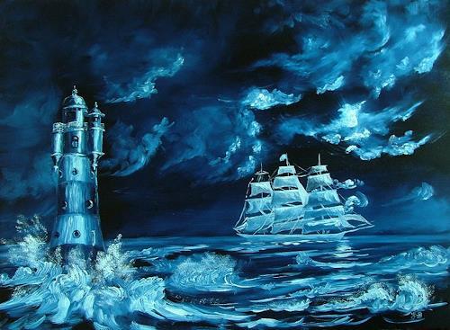 Josef Balek, fantasy, Fantasie, Land-Art