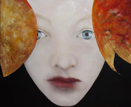 dorota zlatohlávková, Augen 7, Menschen, Moderne, Expressionismus