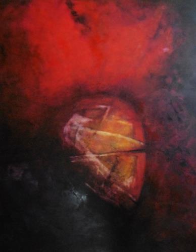 dorota zlatohlávková, Ohne Titel 1., Abstraktes, Colour Field Painting, Expressionismus