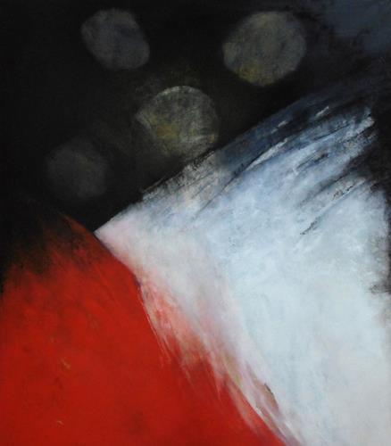 dorota zlatohlávková, Ohne Titel  2., Abstraktes, Action Painting, Abstrakter Expressionismus