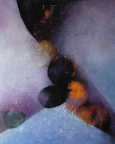 dorota zlatohlávková, Ohne Titel 5., Abstraktes, Abstrakte Kunst, Expressionismus