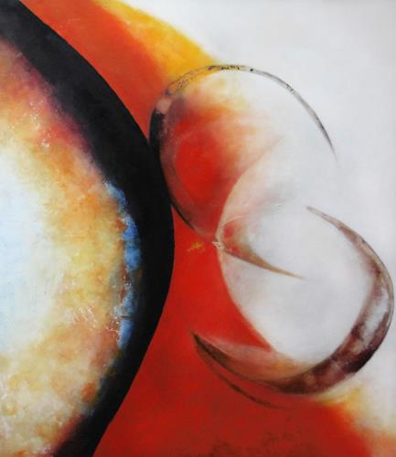 dorota zlatohlávková, Ohne Titel 11., Abstraktes, Abstrakte Kunst, Expressionismus