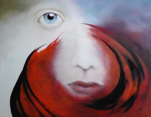 dorota zlatohlávková, Traum III., Menschen: Porträt, Konkrete Kunst, Abstrakter Expressionismus