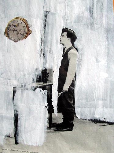 Reiner Poser, Der grosse Charlie, Geschichte, Spurensicherung, Abstrakter Expressionismus