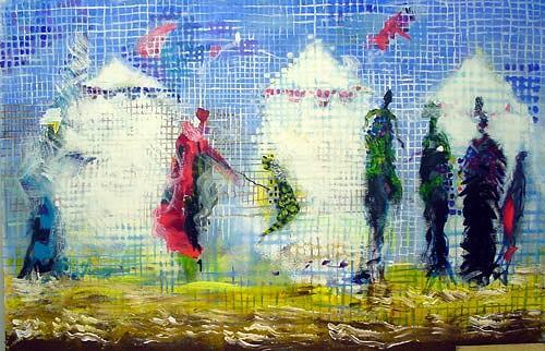 Reiner Poser, FATAMORGANA, Fantasie, Arte Cifra