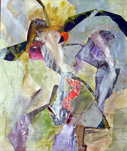 Reiner Poser, Die Gespielin, Fantasie, Arte Cifra, Expressionismus
