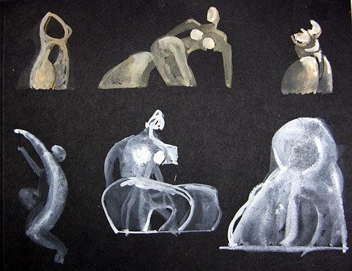Reiner Poser, Entwürfe, Abstraktes, Arte Cifra