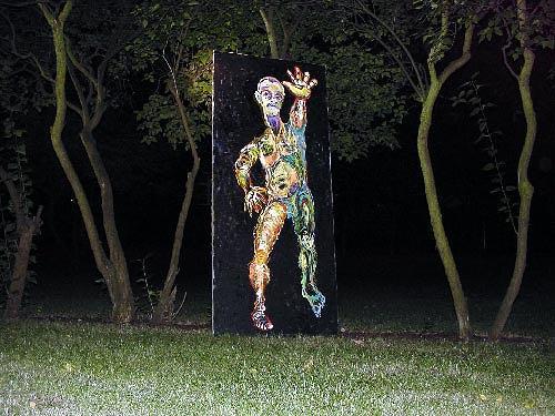 Reiner Poser, Kalt im Wald, Bewegung, Arte Cifra
