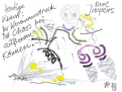 Reiner Poser, Die heutige Kunst, Abstraktes, Symbol, Arte Cifra