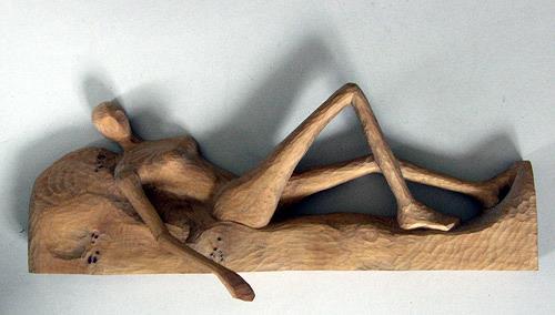 Reiner Poser, Looking for a Lover, Menschen: Frau, expressiver Realismus, Moderne