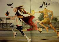 Reiner-Poser-Menschen-Gruppe-Moderne-expressiver-Realismus