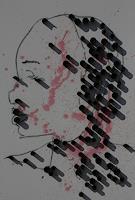 Reiner-Poser-Menschen-Menschen-Frau-Moderne-Abstrakte-Kunst