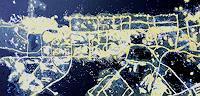 Reiner-Poser-Dekoratives-Landschaft-Moderne-Abstrakte-Kunst