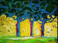 Reiner-Poser-Landschaft-Moderne-Expressionismus