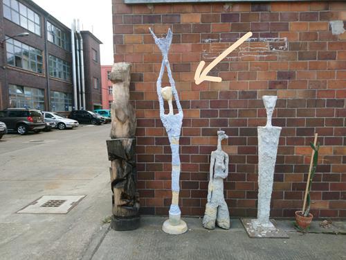 Reiner Poser, Viva World, Menschen, Abstrakte Kunst