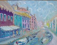 Reiner-Poser-Landschaft-Moderne-Expressionismus-Neo-Expressionismus