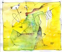 R. Poser, Gelb überwiegt