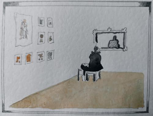Reiner Poser, Ausstellung zu Pandemie-Zeiten, Gefühle: Freude, Minimal Art