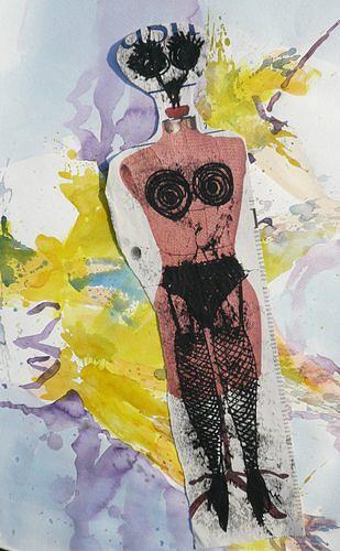 Reiner Poser, Before Catwalk, Abstraktes, Pluralismus, Abstrakter Expressionismus