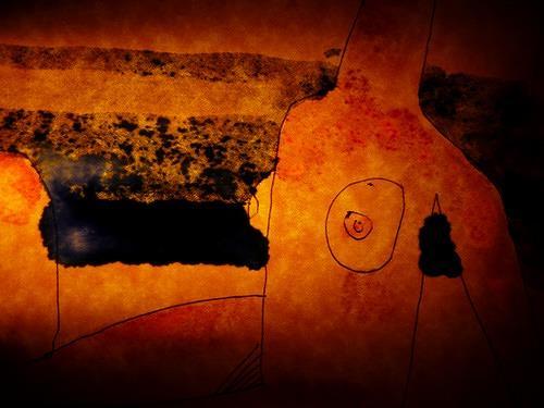 Reiner Poser, Your wonderful body!, Abstraktes, Freizeit, Land-Art, Abstrakter Expressionismus