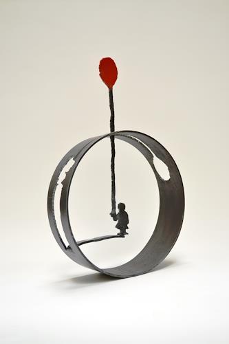 Cla Coray, Oh happy day, Menschen: Kinder, Freizeit, Moderne, Abstrakter Expressionismus