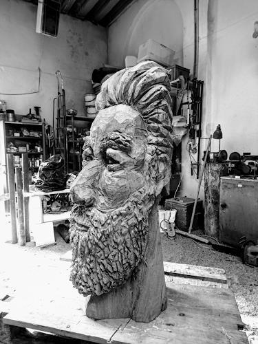 Cla Coray, All the good things comes in tree, Menschen: Gesichter, Menschen: Porträt, Gegenwartskunst, Abstrakter Expressionismus