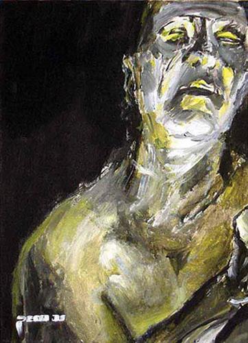 Nikolaus Pessler, Nächtens ..., Diverses, Gegenwartskunst, Abstrakter Expressionismus