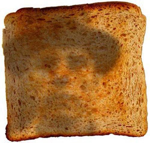 Nikolaus Pessler, Auf einer Fahrt in einem ICE - klebte ich eine Scheibe Toast ans Fenster ..., Diverses, Gegenwartskunst
