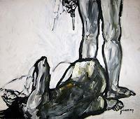 N. Pessler, Familienehre / Die tote Venus --- frei nach Velasquez