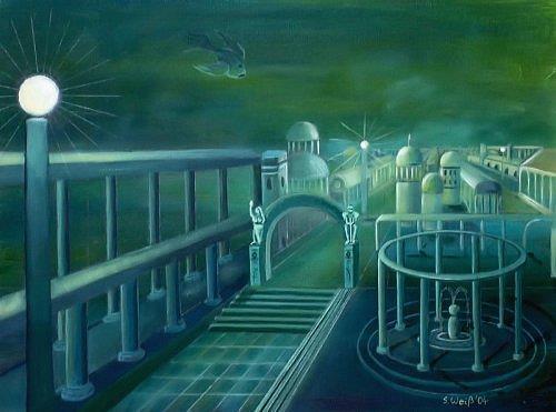 Weiß Stefan, Atlantis, Mythologie, Fantasie, Surrealismus