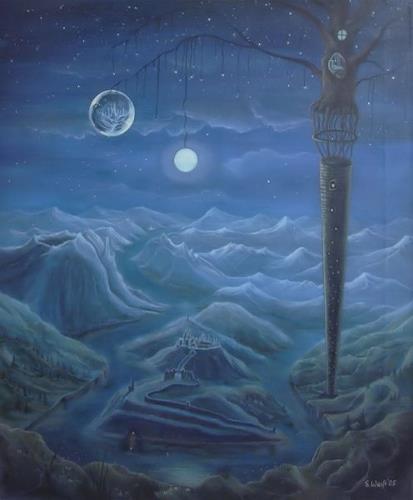 Weiß Stefan, Zauberturm, Fantasie, Mythologie, Romantik, Expressionismus