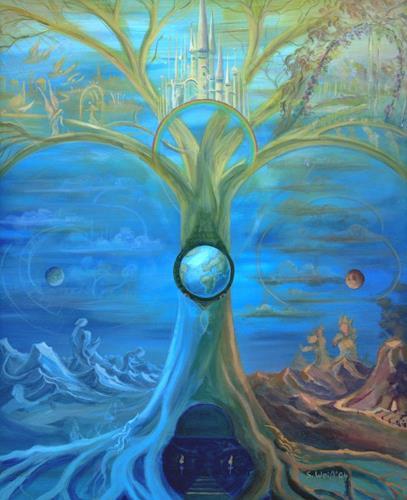 Weiß Stefan, Yggdrasil, Mythologie, Pflanzen: Bäume, Neuzeit