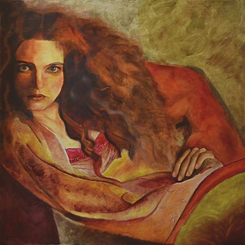 FrederiqueK, Raphaelle, Menschen: Frau, Neo-Expressionismus, Abstrakter Expressionismus