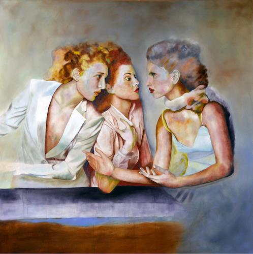 FrederiqueK, Gossip, Diverses, expressiver Realismus, Expressionismus