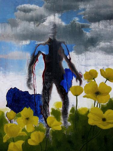 Katrin Ginster, vision thing, Gefühle: Aggression, Fantasie, Abstrakter Expressionismus