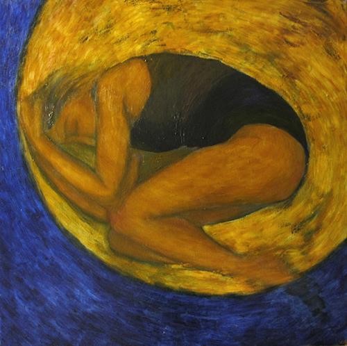 Katrin Ginster, circles and spirales, Gefühle: Geborgenheit, Diverse Menschen