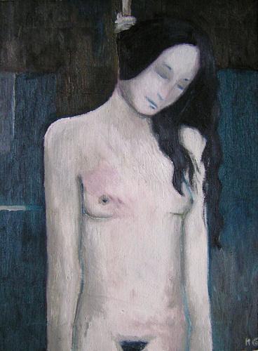 Katrin Ginster, Und der Sommer ist schon wieder vorbei, Tod/Krankheit, Abstrakter Expressionismus