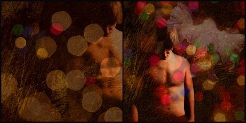Katrin Ginster, in rainbows, 3, Menschen: Mann, Diverse Musik, Gegenwartskunst